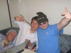 Thomas, Lutz and me