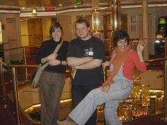Soetkin, me and Raquel